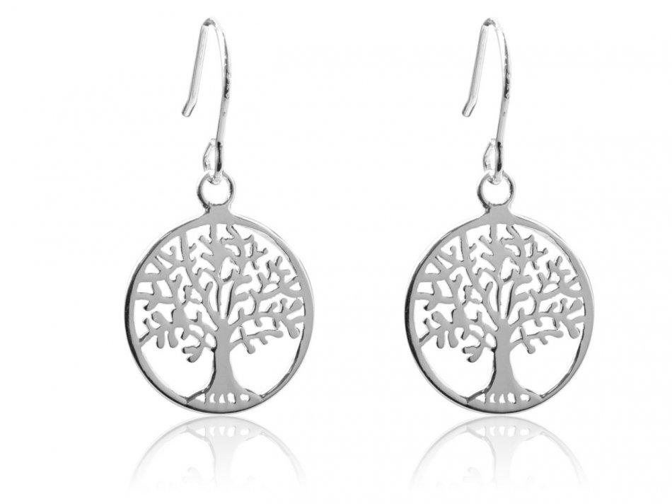 cercei pomul vietii argint 925