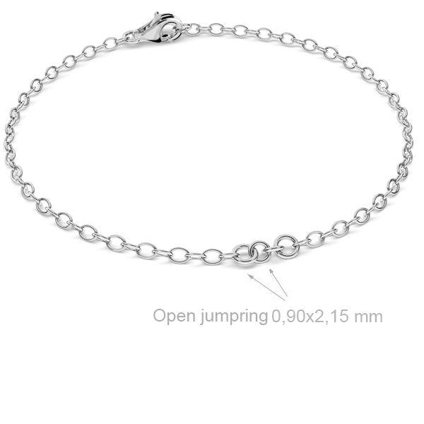 bratara, argint 925 15cm