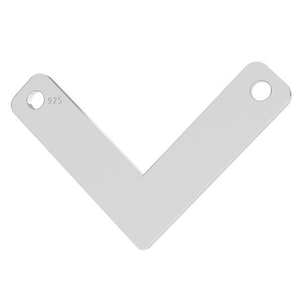 link- pandantiv V argint 925