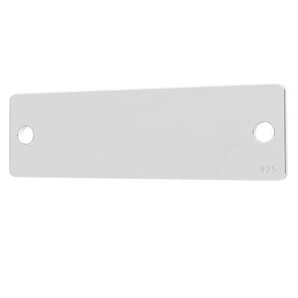 Tablita argint 925  - 23 x 7 mm