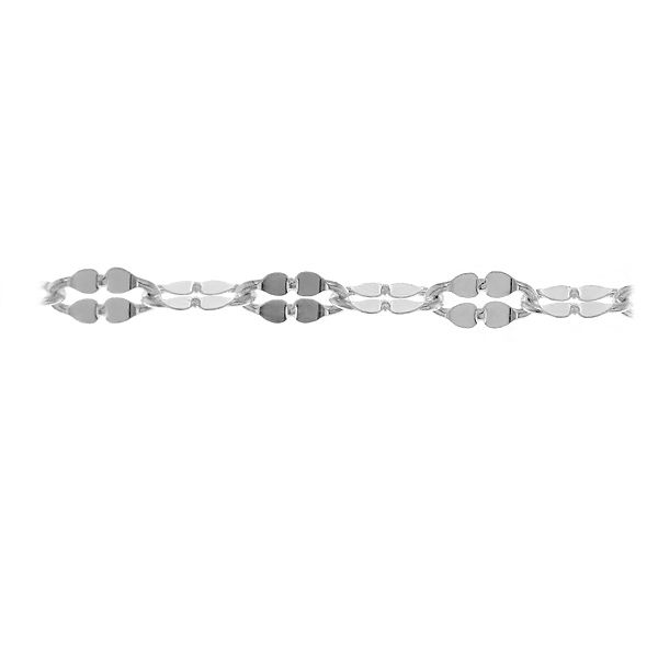 lant la rola - pret pentru 0,5 metri - argint 925