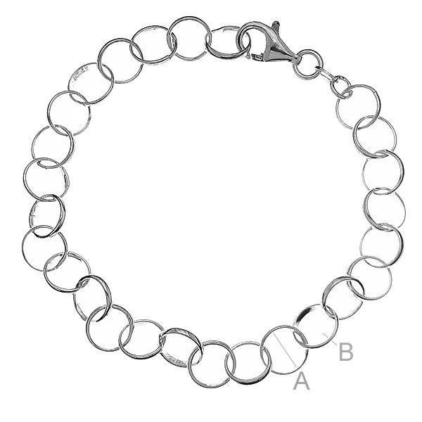 bratara argint 925 20 cm