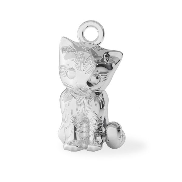 Pisica pandantiv argint 925