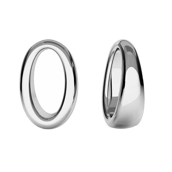 pandant oval argint 925