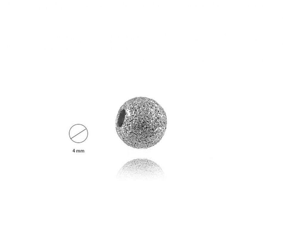 Bila argint 925 stardust 4 mm gaura de 1,5