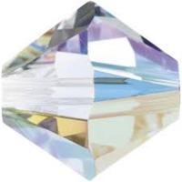 Biconic 4 mm 5328 swarovski cristal AB