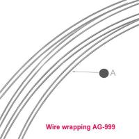 sarma de argint 0.4 mm soft  WIRE WRAPPING / 0,5 metru