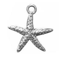 pandant stea de mare - argint 925 15.5 mm