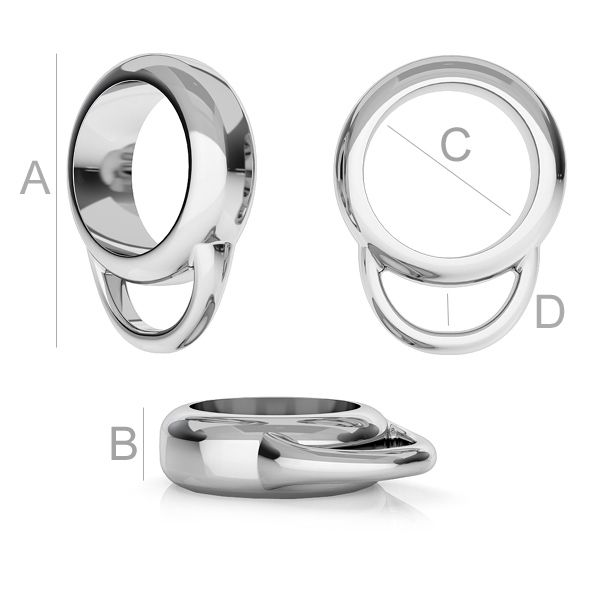 spacer - accesoriu argint 925