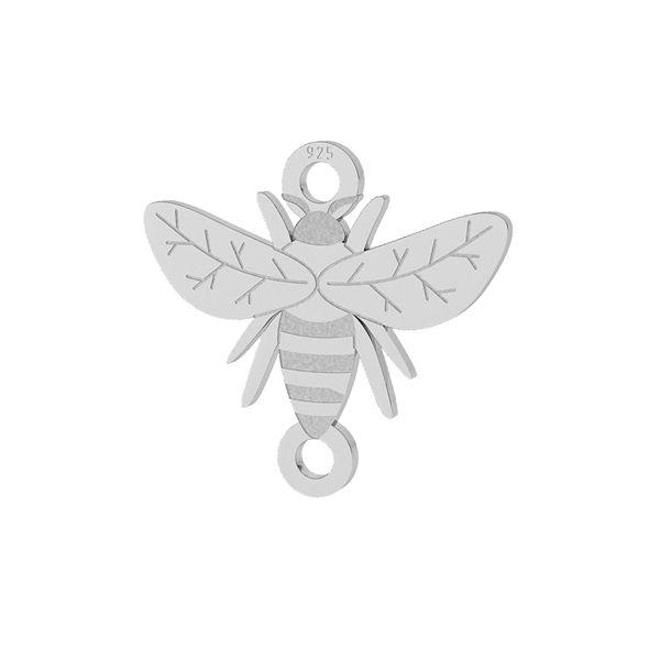 pandantiv argint925, albina