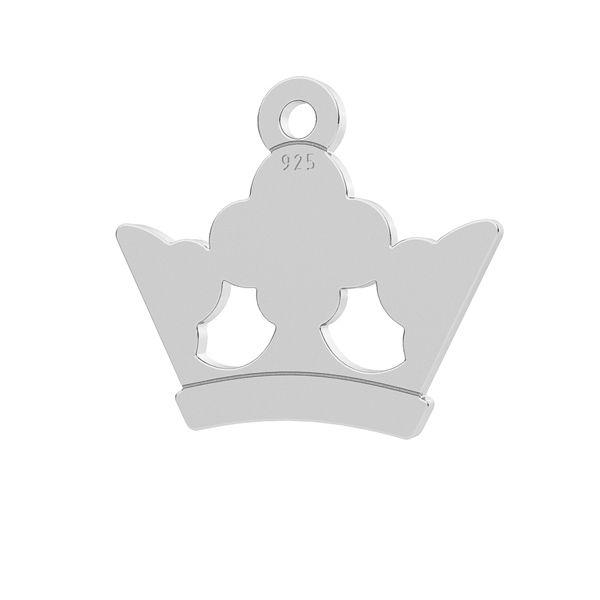 charm coroana argint 925