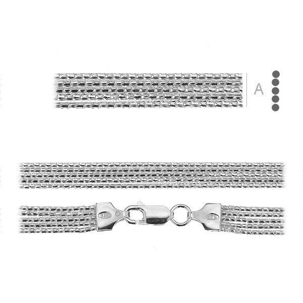 bratara argint 925 19 cm