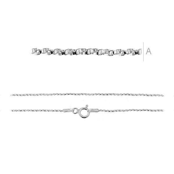 lant argint 925 55 cm twisted