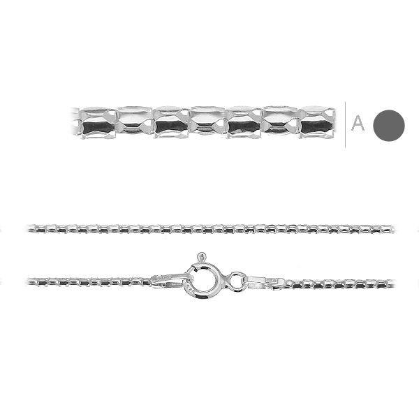 lant argint coreana 50 cm  argint 925