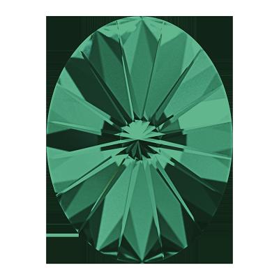 swarovski 4122 14.0x10.5 emerald F