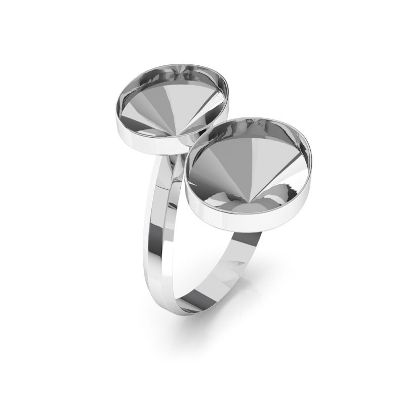 Baza inel argint 925 pentru swarovski 4122