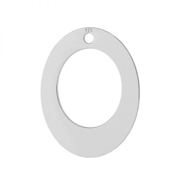pandant argint 925 oval
