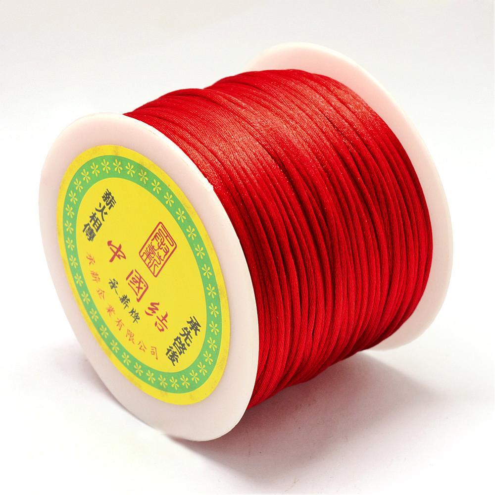 snur sintetic rosu grosime 1 mm cca 50 metri