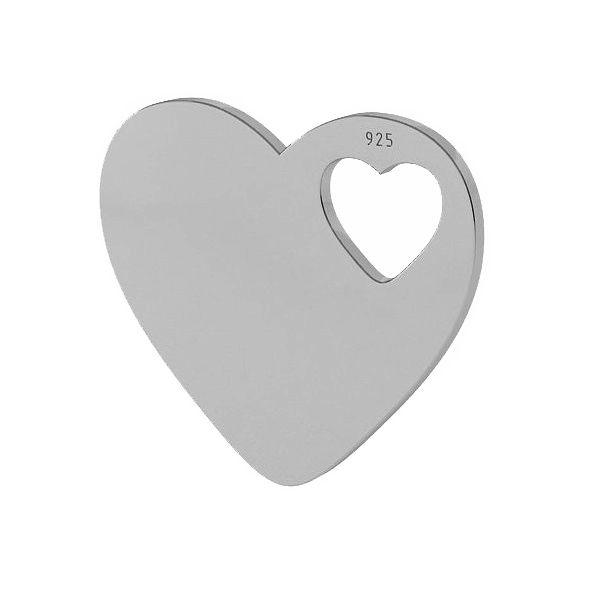 inima argint 925
