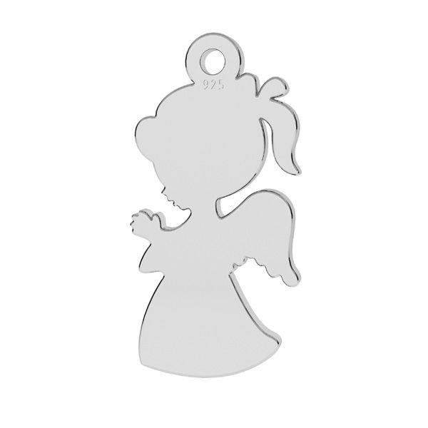charm argint 925 ingeras fetita