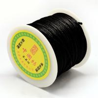 snur sintetic negru grosime 1 mm 50 m