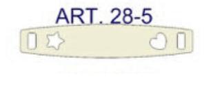 tablita argint 925 28 x 5,4 mm