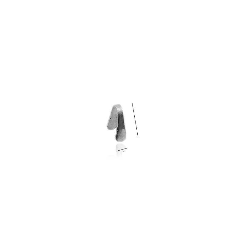 cap de lant argint 925 5.7 x 2 mm