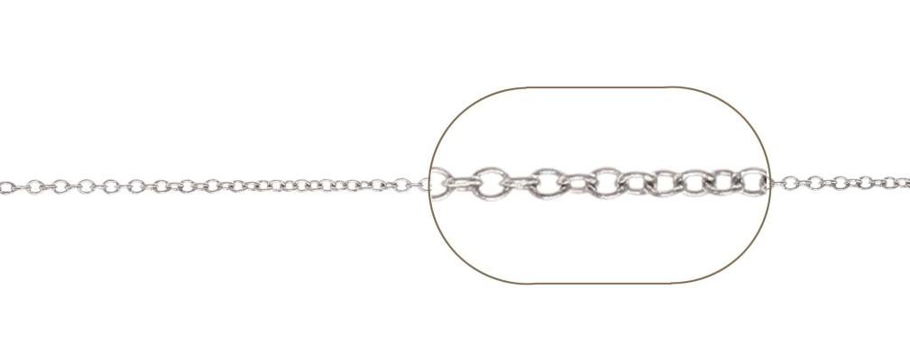 lant la rola argint 925 FZ030  / 0,5 metri
