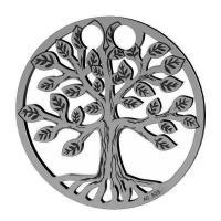 charm argint 925 placat cu rodiu copacul vietii