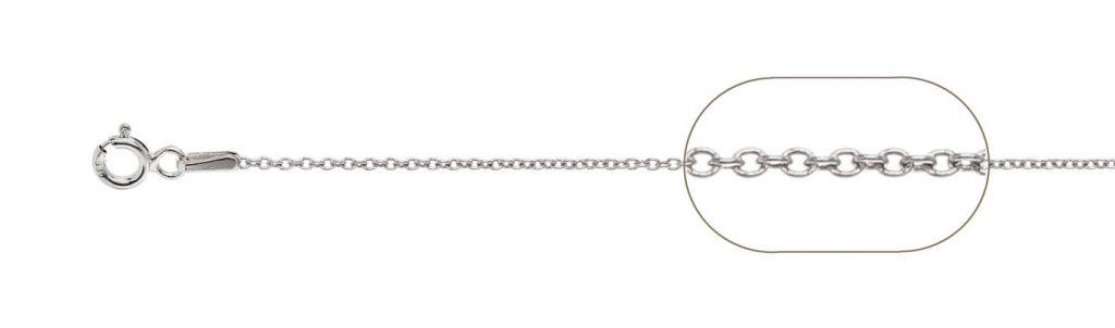 lant argint 925 forzatina 035  38 cm, greutate 1,60 grame