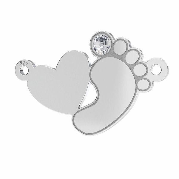 link argint 925 picioruse copil