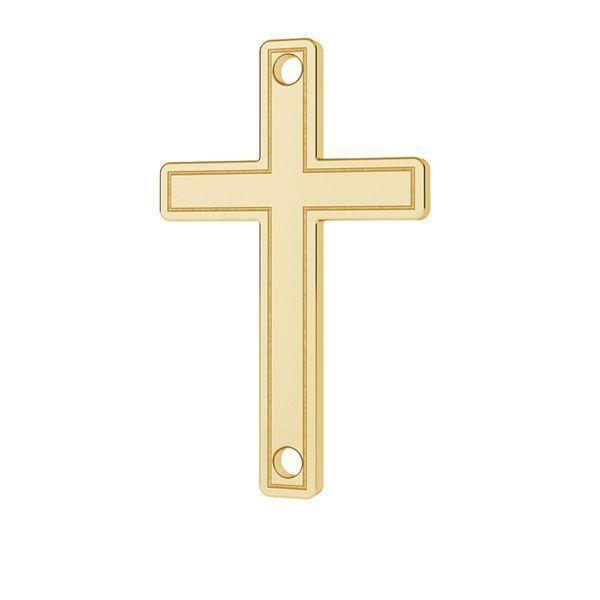 cruce aur 14k placata cu 24K