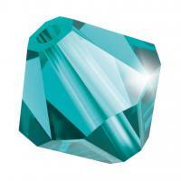 Biconic Preciosa 4mm blue zircon