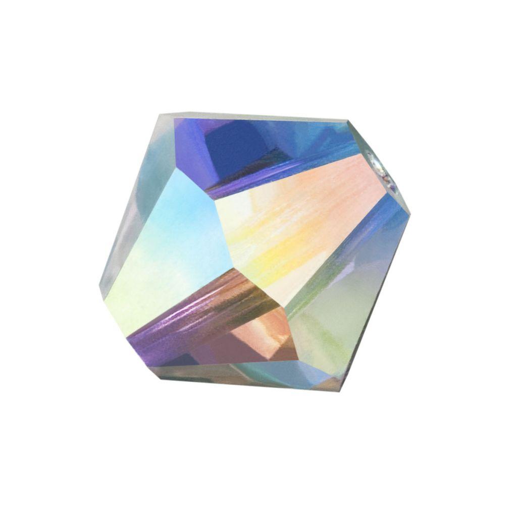 Biconic Preciosa 4mm crystal ab