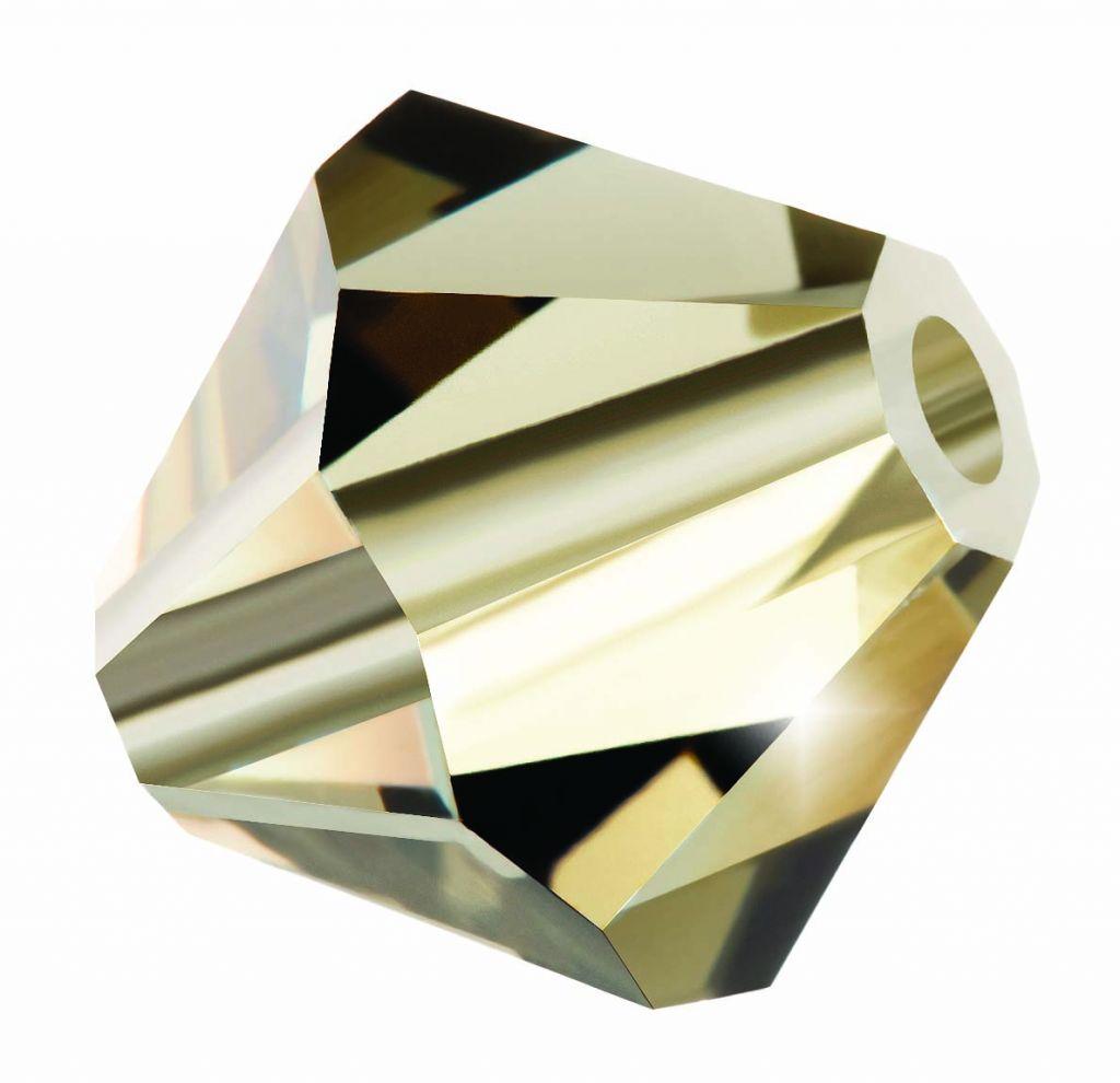 Biconic Preciosa 4mm Black Diamond