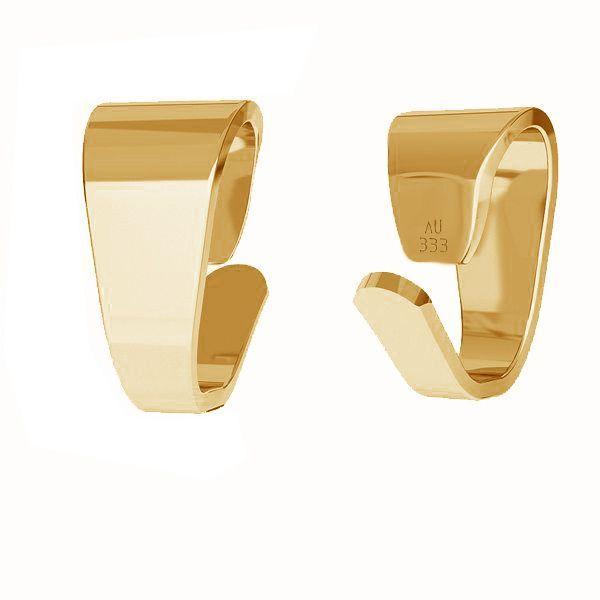 Agatatoare pandant aur 8K - au 333 placat cu aur de 18 K