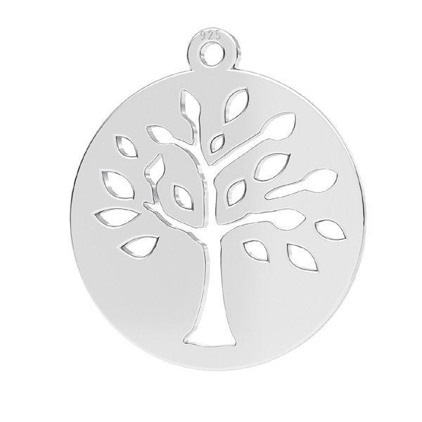 pandant pomul vietii 16 mm argint 925