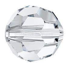 Margele rotunde Preciosa  5mm Crytal