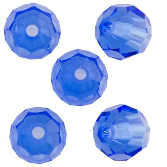 Margele rotunde Preciosa 6 mm sapphyre