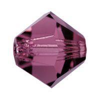 Biconic Preciosa 6mm amethyst