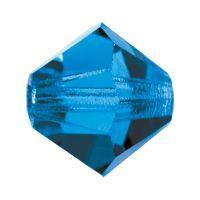 Biconic Preciosa 6mm capri Blue