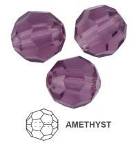 Margele rotunde preciosa 4mm amethyst
