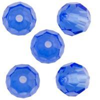 Margele rotunde Preciosa 4mm sapphyre