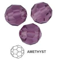 Margele rotunde Preciosa 5mm amethyst