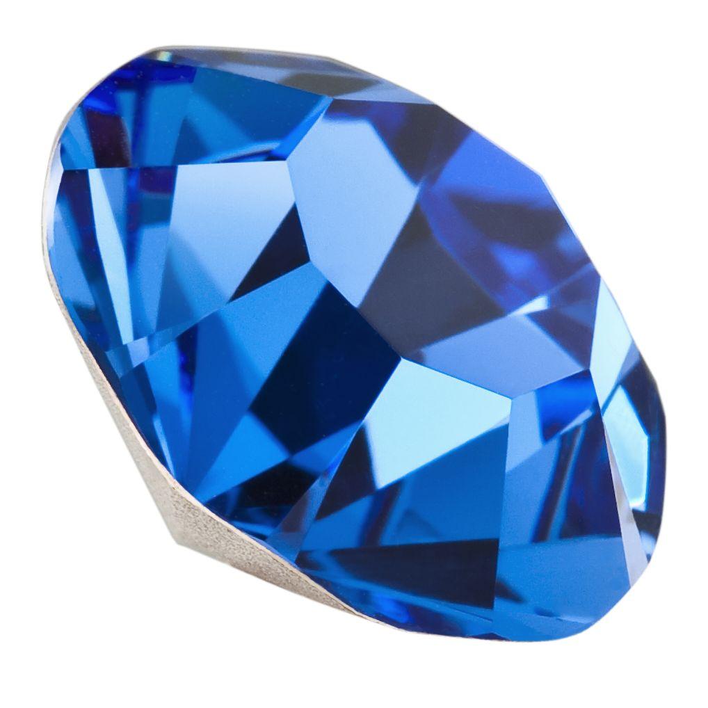 Chaton Maxima  ss39 8mm sapphire