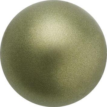 Perle Preciosa 10 mm Dark Green