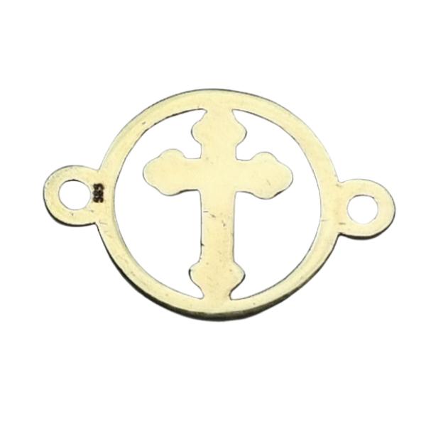 Link Cruce aur 14k placat cu aur de 18k