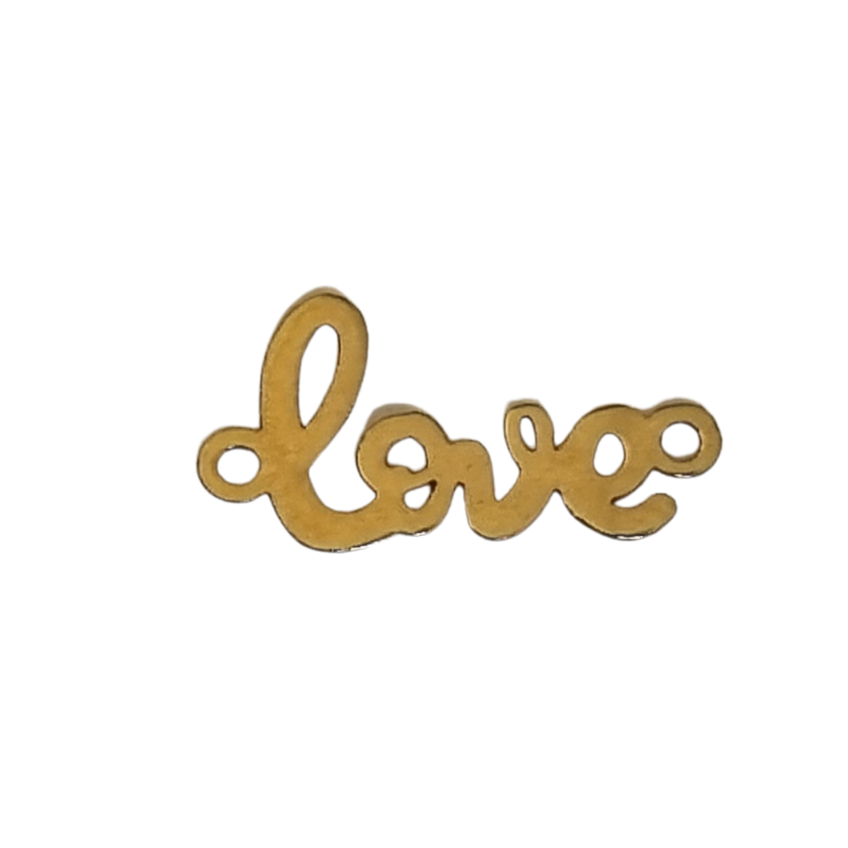 love aur14k  placat cu aur de 18k