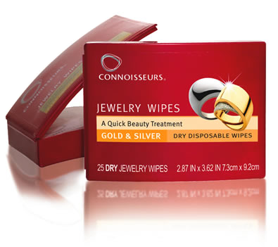 Connoisseurs Jewelry Wipes