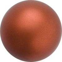 Perle preciosa 12mm Dark Copper